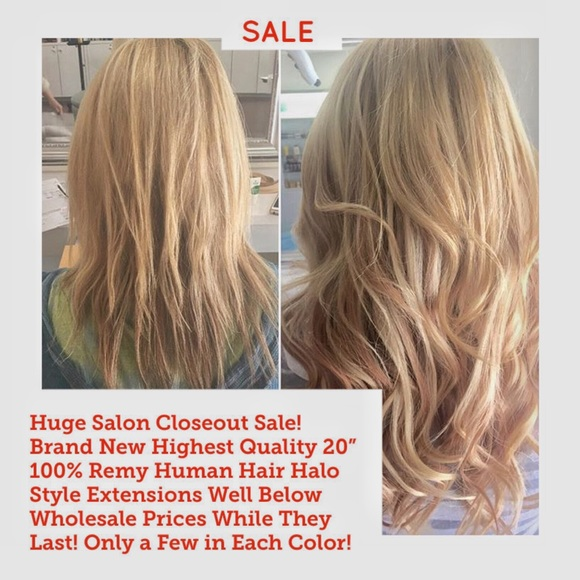 Accessories Dark Blonde 100 Quality Hair Halo Extensions Poshmark